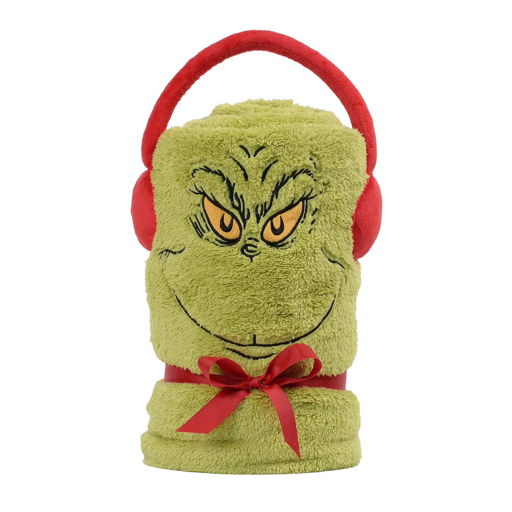 SnowThrows Dr. Seuss The Grinch Fleece Blanket